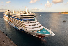 Cruise Ship In Basseterre St Kitts Editorial Photo.