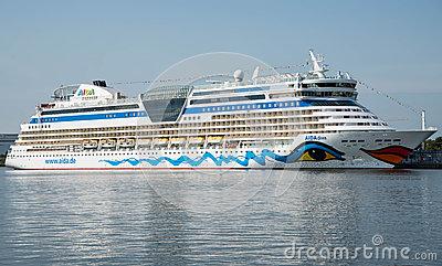 Aida Diva Cruise Ship Editorial Stock Image.