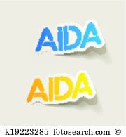 Aida Clipart Illustrations. 24 aida clip art vector EPS drawings.