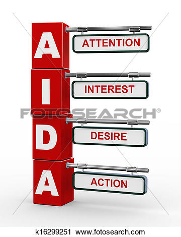 Clipart of 3d modern signboard of aida k16299251.