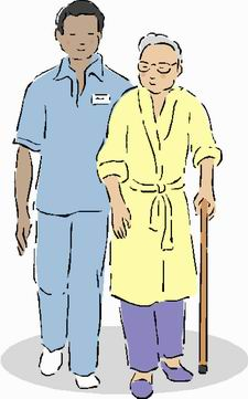 Certified Nursing Aide Clipart.