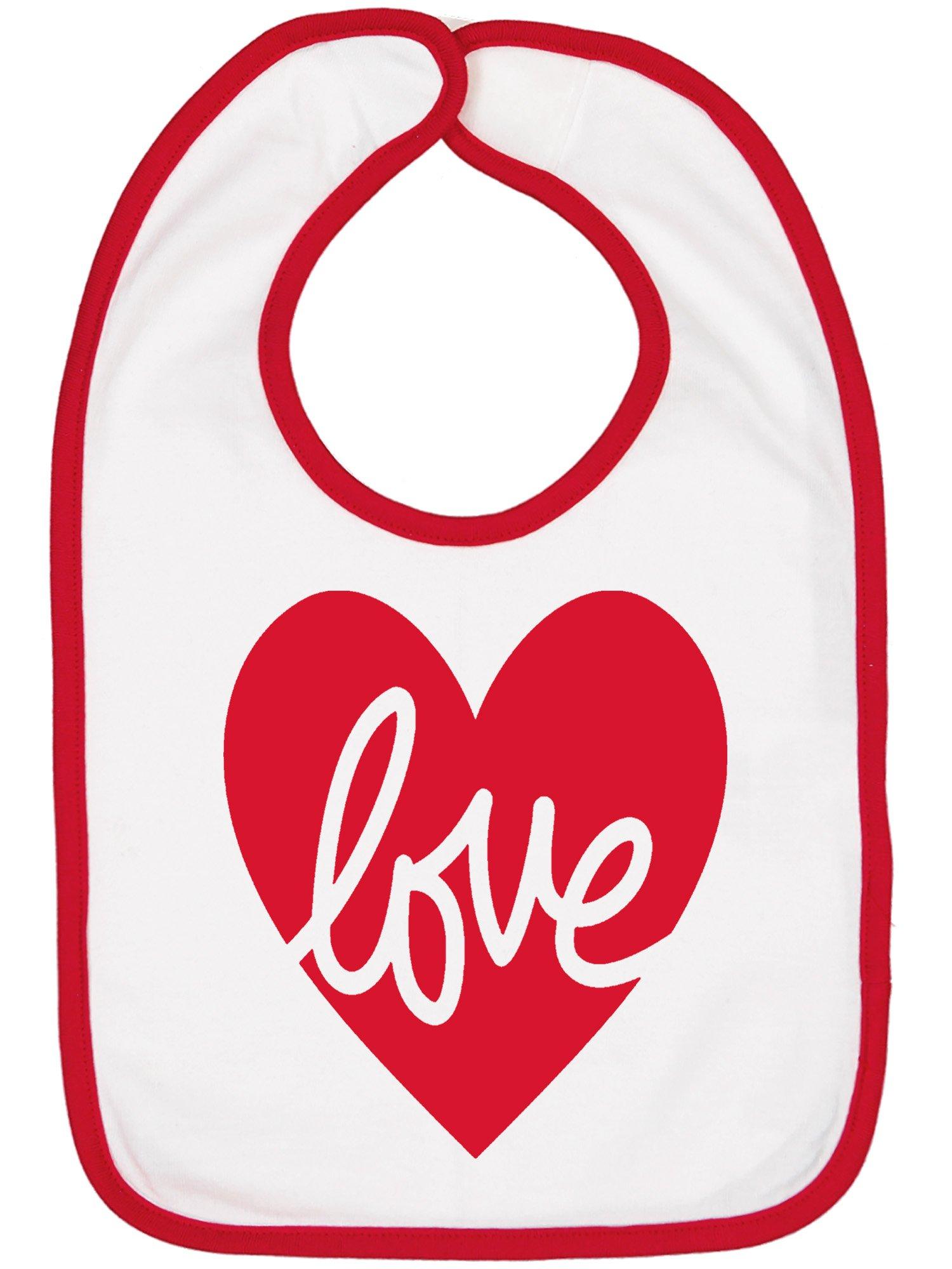 Love Valentine Bib.