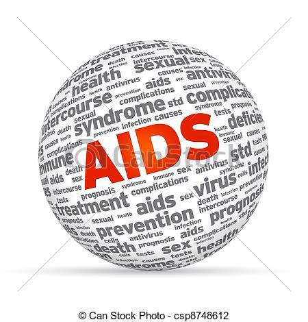 Aids clip art pictures.