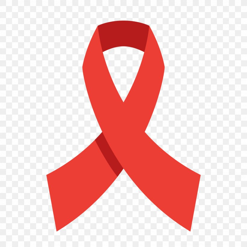 Red Ribbon World AIDS Day Awareness Ribbon, PNG, 1600x1600px.