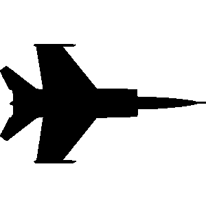 Fighter jet clipart #4