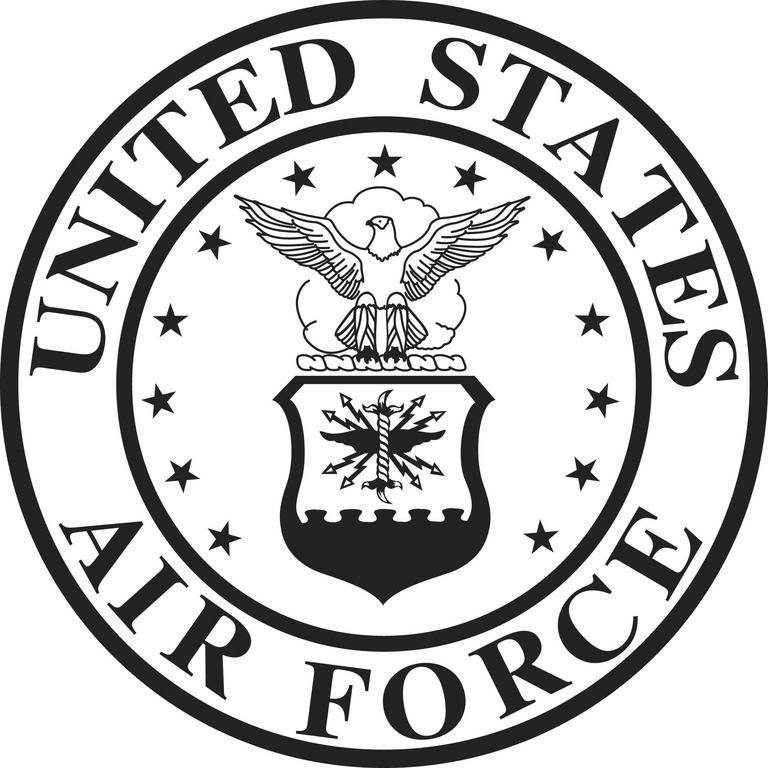 United states air force clipart clipground air force logo clip art voltagebd Images