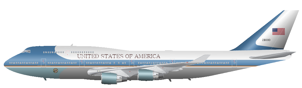Air Force One Png.
