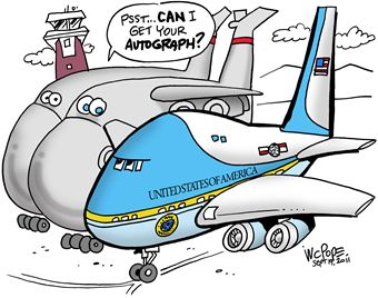 Air force one clipart.