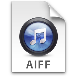 iTunes AIFF Blue Icon.