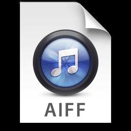 iTunes AIFF Blue Icon.