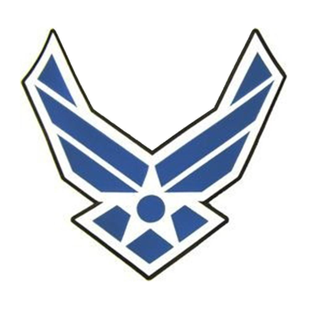 U.S. Air Force Wings Emblem Stitch on Back Patch (11.5.
