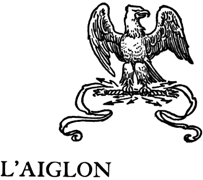 The Project Gutenberg eBook of L'aiglon, by Edmond Rostand..