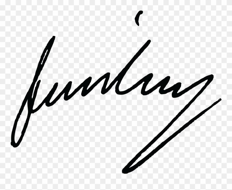 James Wilson Signature.