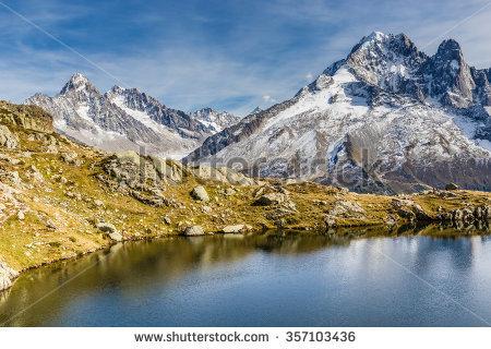 """glacier D Argentiere"""" Stock Photos, Royalty."""