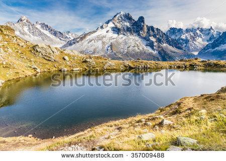 Glacier D Argentiere Stock Photos, Royalty.