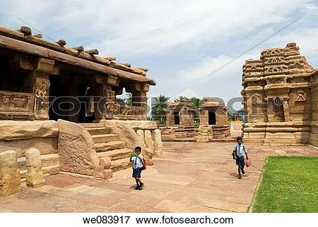 Picture of attraction, Aihole, art, architecture, ancient, 7th.