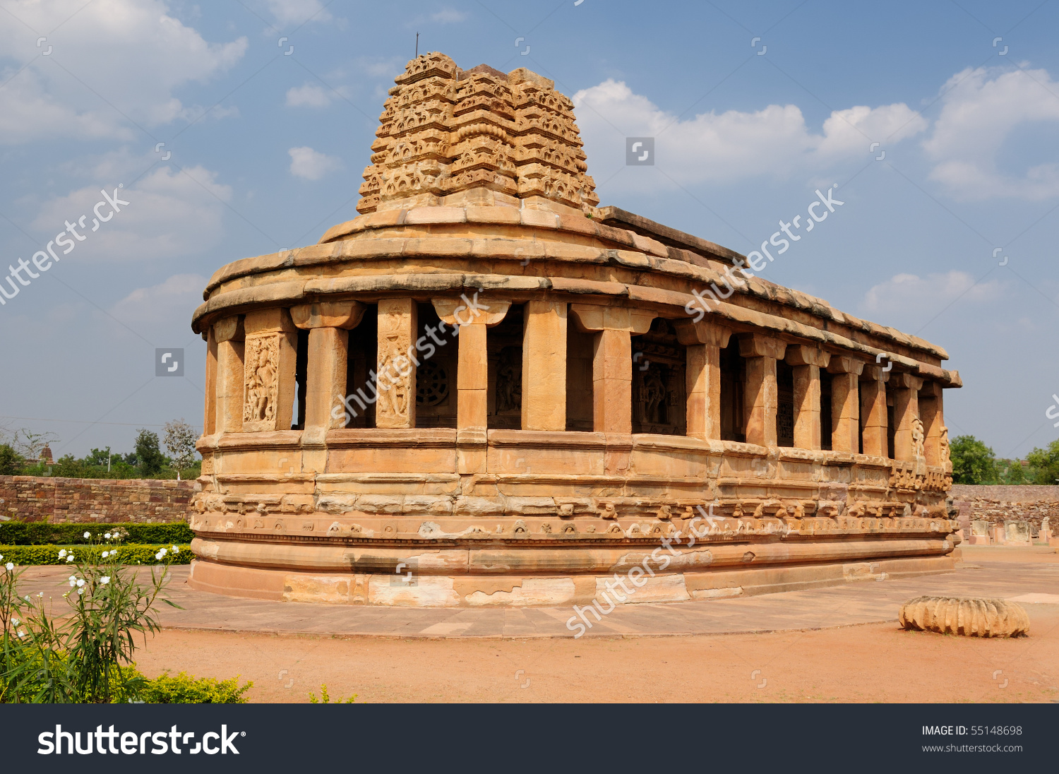 Durga Temple Aihole Near Badami Karnataka Stock Photo 55148698.