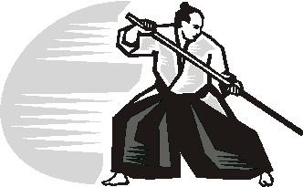 Aikido Clip Art.