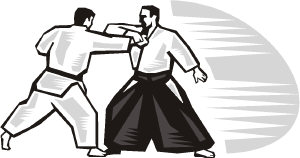 Aikido Clipart.