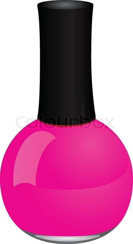Image result for nail polish clipart in 2019.