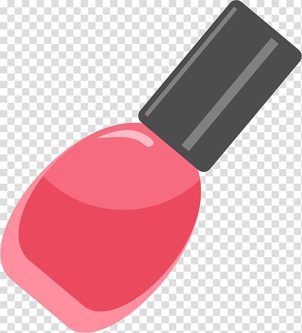 Nail polish Red Make.