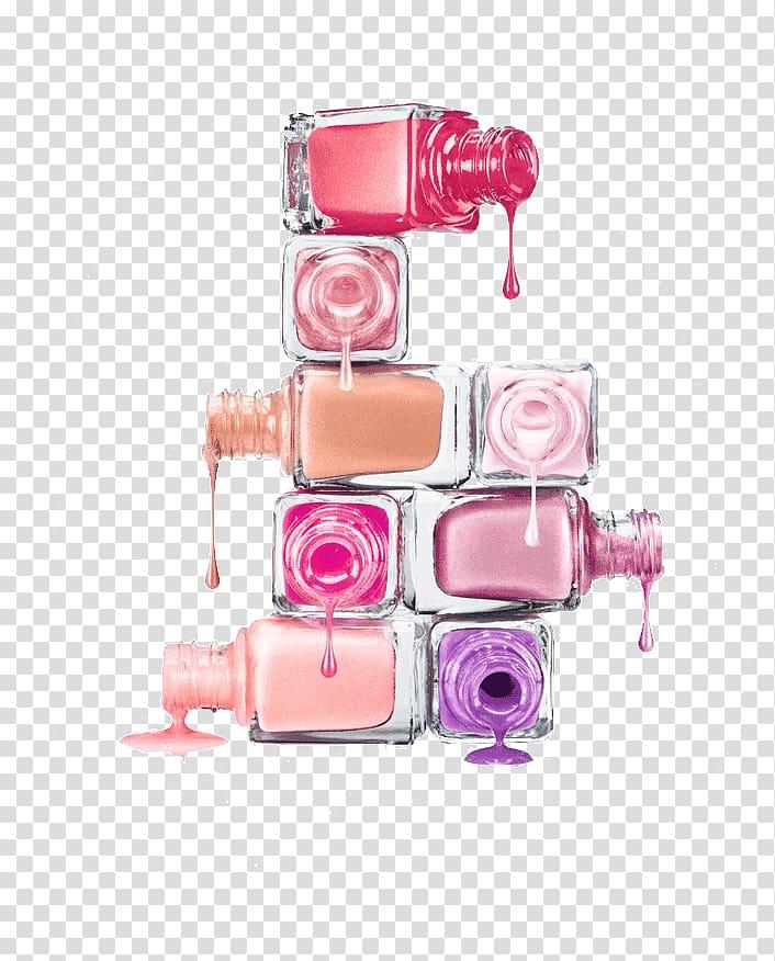 Nail Polish Manicure Cosmetics, nail polish transparent.