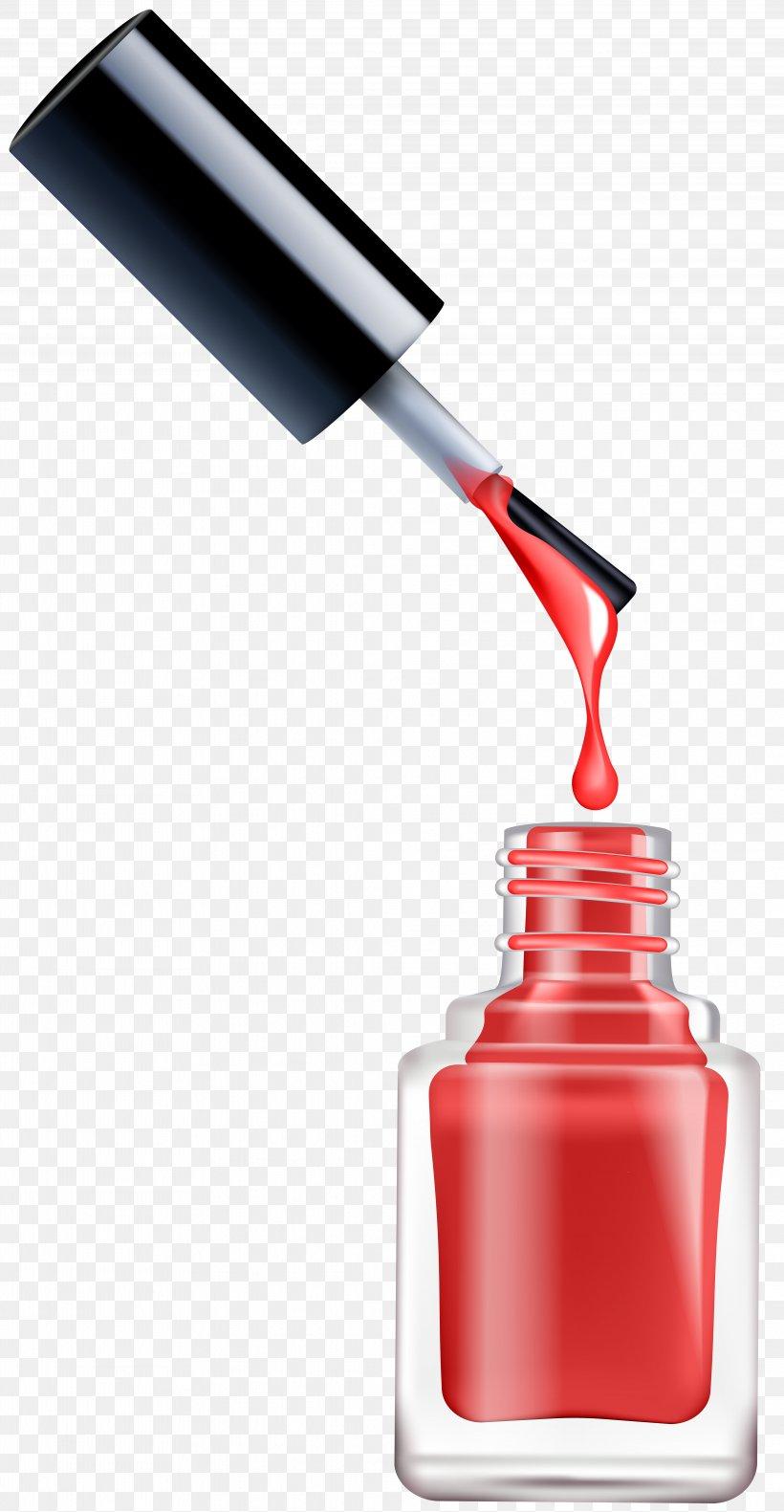 Nail Polish Cosmetics Nail Art Clip Art, PNG, 4147x8000px.
