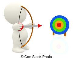 Aim clip art.