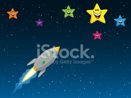 AIM for The Stars Stock Vector.