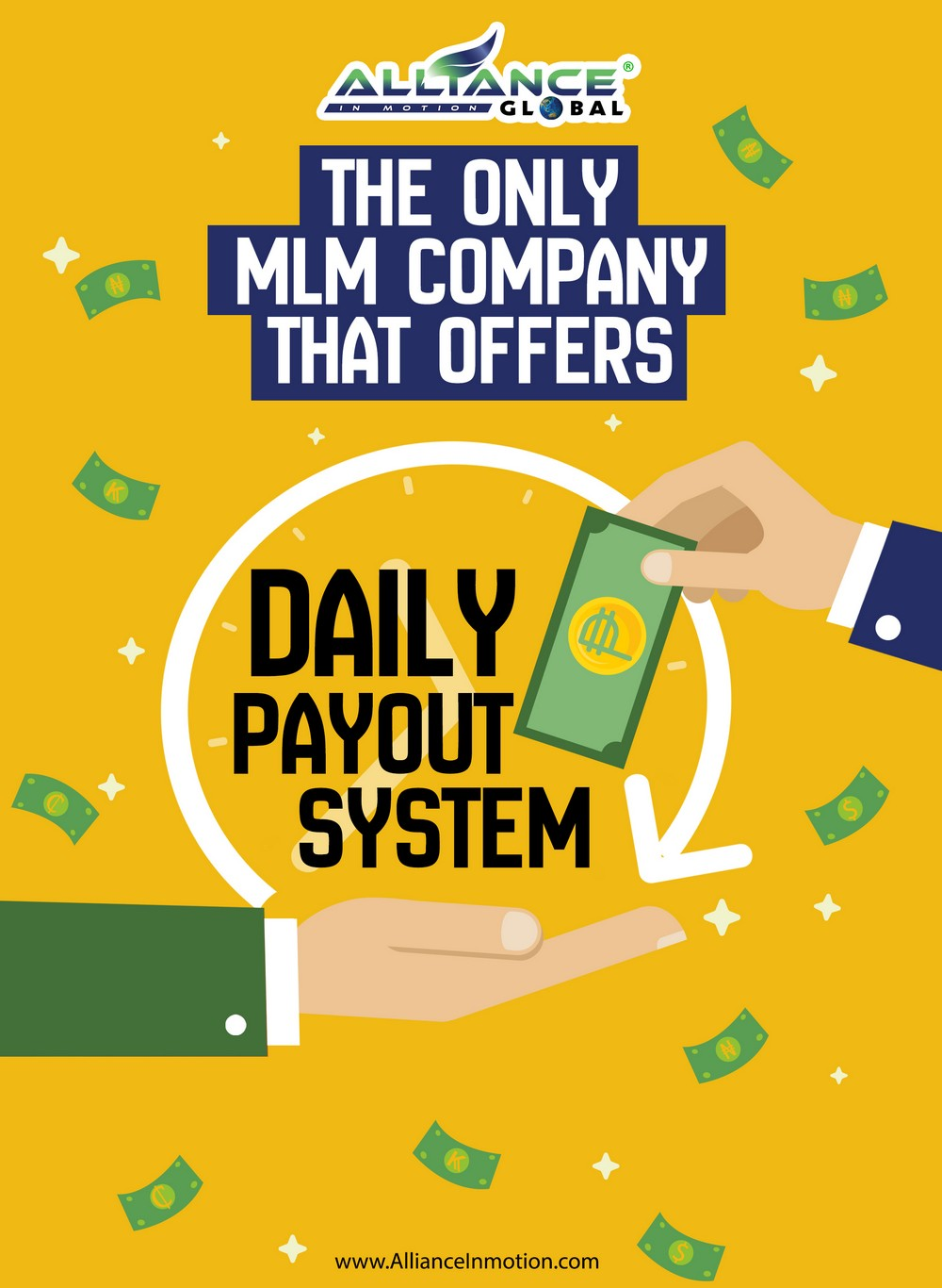 AIM Global Daily Payout System.