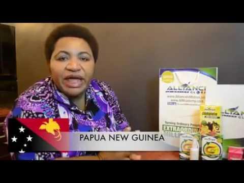 PAPUA NEW GUINEA PRODUCTS TESTIMONIALS OF AIM GLOBAL.