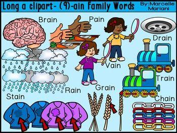 Long vowel a clipart, (.