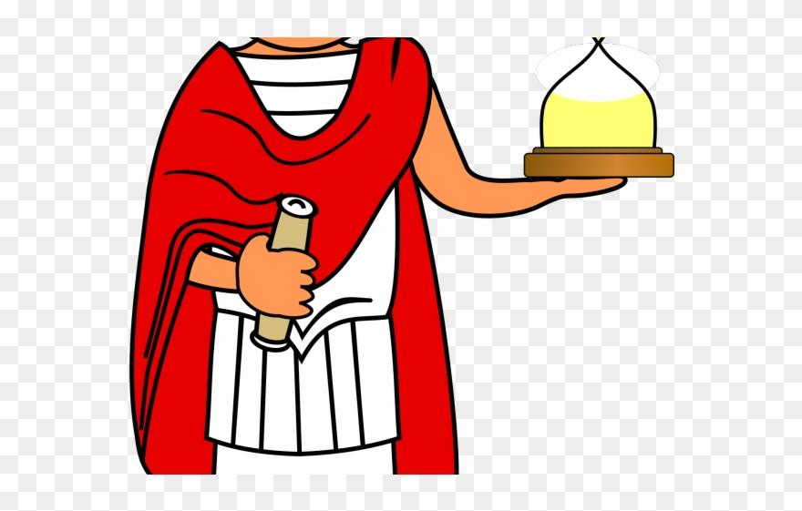 Latin Clipart Roman Person.