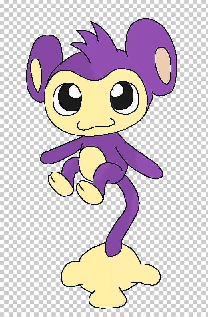 Línia Evolutiva D\'Aipom Pokémon X And Y Coloring Book PNG.