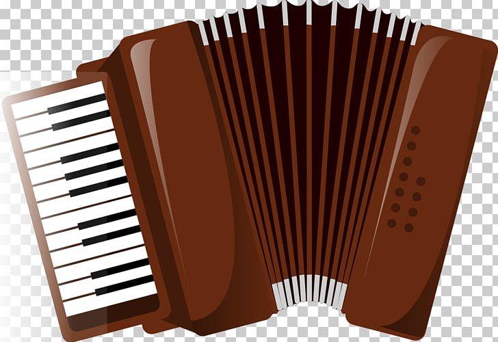 Diatonic Button Accordion Piano Musical Keyboard PNG.