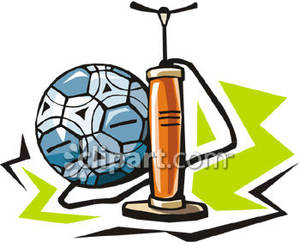 A_Soccer_Ball_and_an_Air_Pump_Royalty_Free_Clipart_Picture_081017.