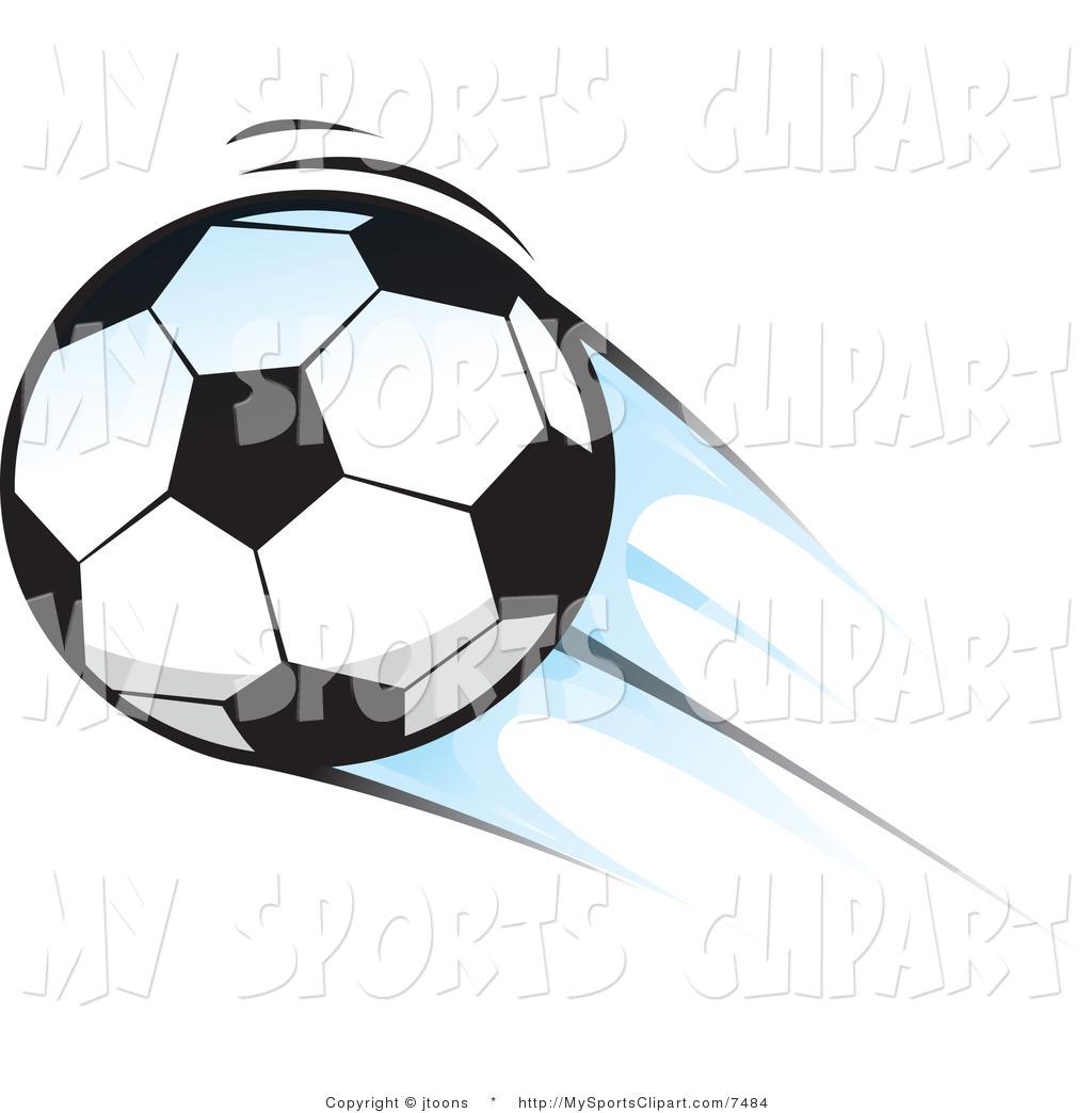 Soccer Ball Motion Clipart.