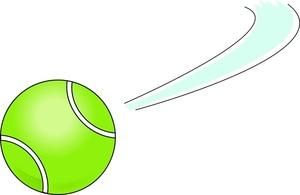 Tennis Ball Clipart Image.