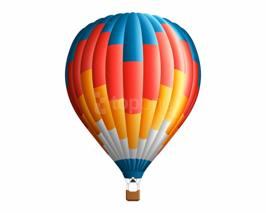 Hot Air Balloon Clipart Png.