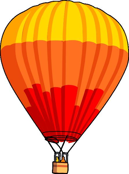 Hot Air Balloon clip art Free Vector / 4Vector.