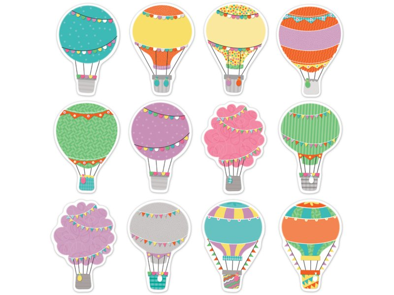 Up & Away Hot Air Balloon Accents.