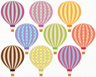 Free Printable Balloons.