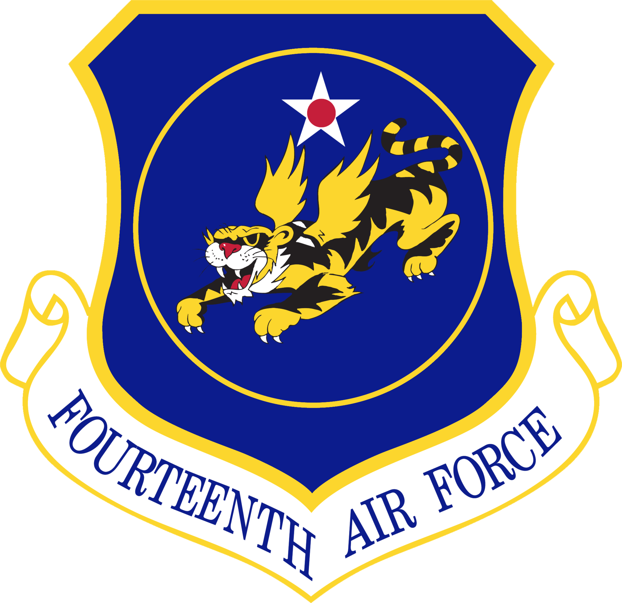 14th Air Force Emblempng Clipart.