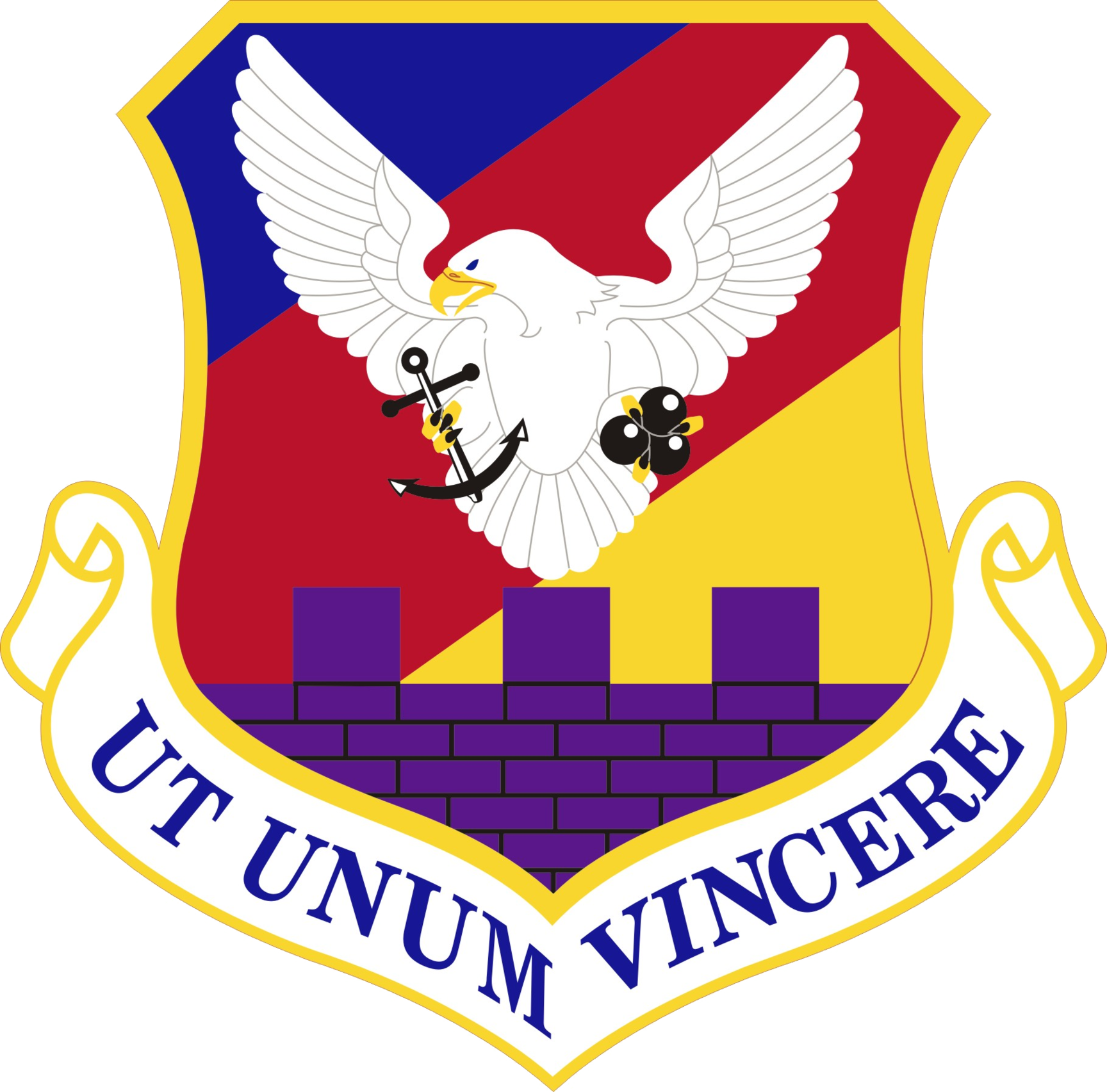 87th Air Base Wing Clipart.