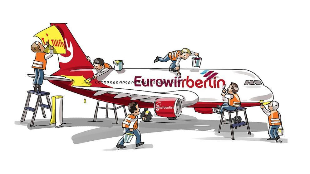 TUIfly (german Airline) Possible merger with Airberlin and.