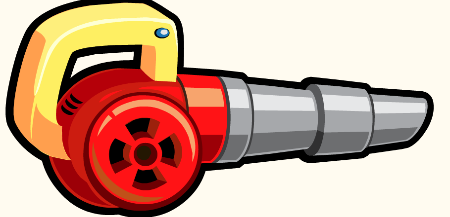 Leaf blower clipart.