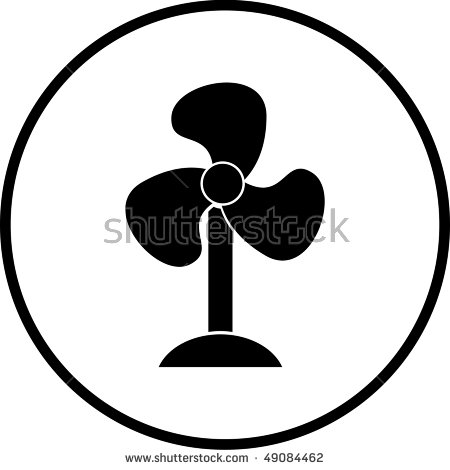 Fan Air Blower Symbol Stock Photo 49084462 : Shutterstock.