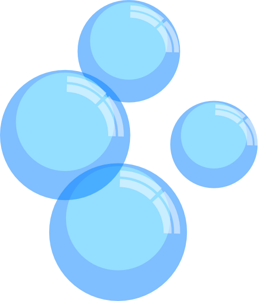 Air Bubbles Clipart.