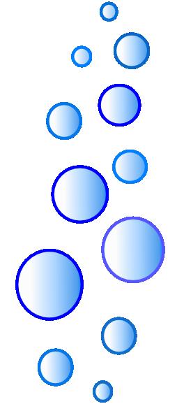 Air Bubbles Clipart.
