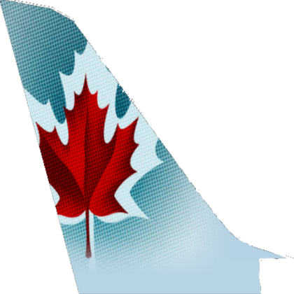 Air Canada Tail Logo (Left).